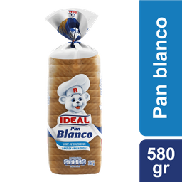 Pan Blanco Ideal 560gr