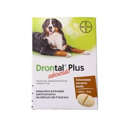Drontal plus raza grande