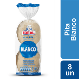 Bimbo-Ideal Pan Pita Blanco 8 U