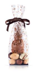 Conejo Pascua Chico con 10 Huevitos