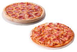 2 Pizzas Familiares