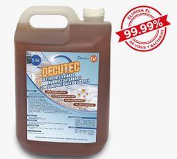 Detergente Decutec Amonio Cuarentenrio y Nanoparticulas de Cobre