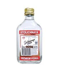 Vodka Stolichnaya Petaca 200ml