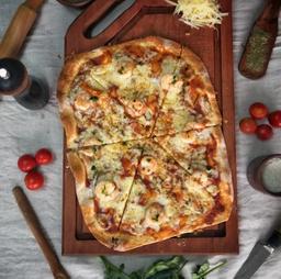 Pizza Camarón D'fab 2 a 4 Personas