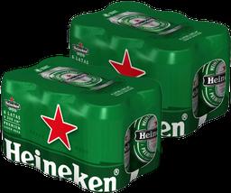 2x Six Pack Heineken 350cc