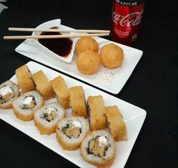 Combo Kinoko Cheese Furay