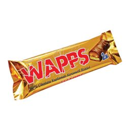 Wapps - Galleta Caramel, bañada en Chocolate 65gr