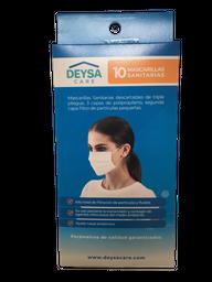 Pack 10 Mascarillas Sanitarias, 3 Ply Air.
