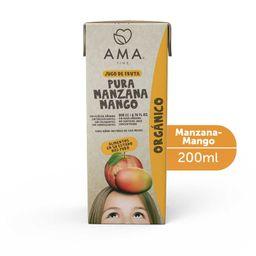 Jugo de manzana y mango orgánico 200 cc