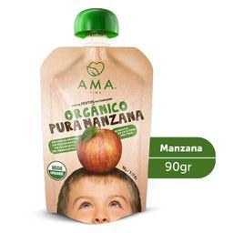 Puré de manzana orgánica 90grs