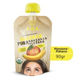 Ama Colado Organico Manzana Platano
