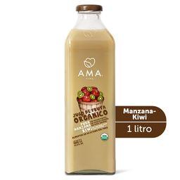 Jugo de manzana y kiwi orgánico  1L