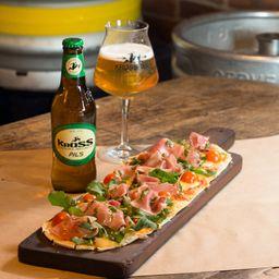 Pizza Italianissima + 1 Pils 330cc