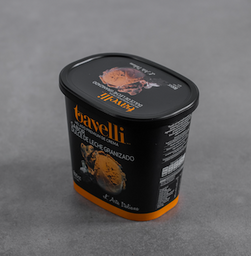 Helado Premium Dulce de Leche Granizado