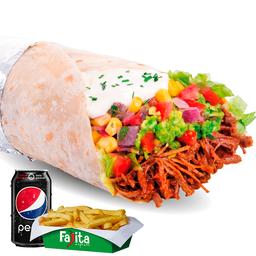 Combo Burrito Mexicano
