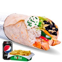 Combo Burrito Heavy