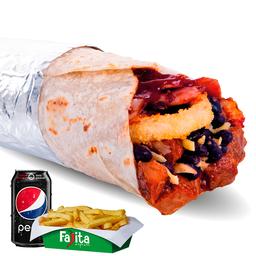 Combo Burrito Gringo