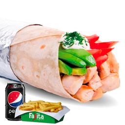 Combo Burrito Italiano