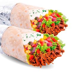 2 x Burritos Mexicanos