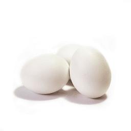 Bandeja de 6 Huevos blancos