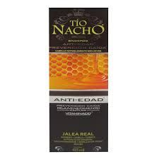 Tio Nacho Shampoo Anti-Edad (jalea real) x 415 ml