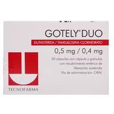 Gotely Duo 0,5/0,4 mg x 30 cápsulas