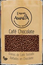 Granos de Café Totsados Bañados en Chocolate 125