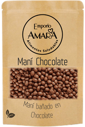 Maní Bañado en Chocolate 125