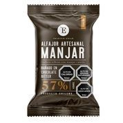 Alfajor manjar chocolate bitter 40 gr.