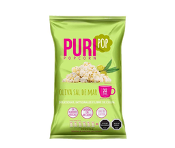 Popcorn oliva sal familiar Puripop, 125 g