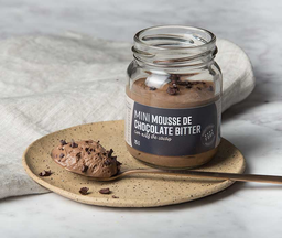 Mini mousse de chocolate bitter Fork, 75 g