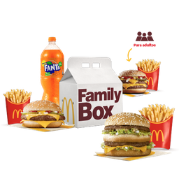 Family Box para 3 Adultos