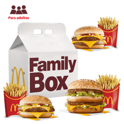 Family Box para 3 Adultos: