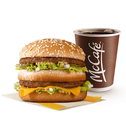 Hamburguesa BigMac + Cafe