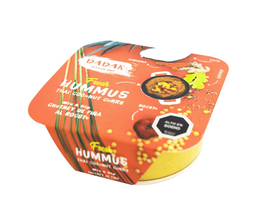 Hummus thai coconut curry Babar, 290 g