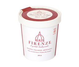 Gelato artesanal chocolate belga Firenze, 500 ml