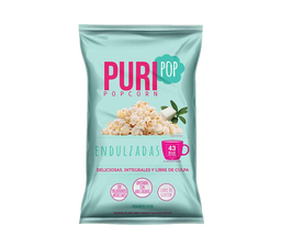 Popcorn endulzadas familiar Puripop, 210 g
