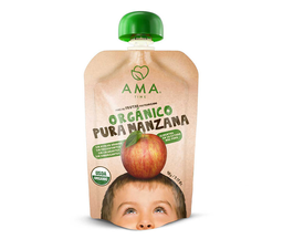 Puré manzana Ama, 90 g