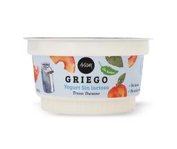 Yogurt natural con durazno Artifrut, 15…