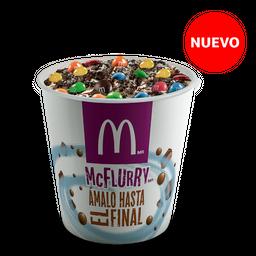 McFlurry Crossover Oreo + M&M