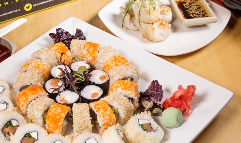 Logo Sushi House