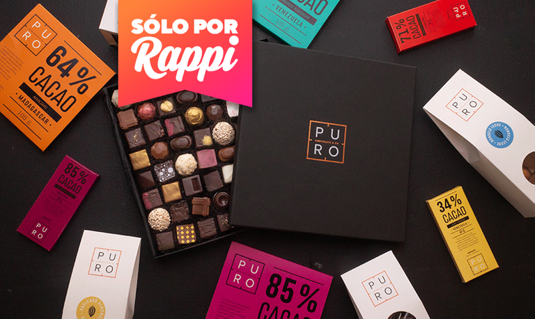 Logo Puro chocolate