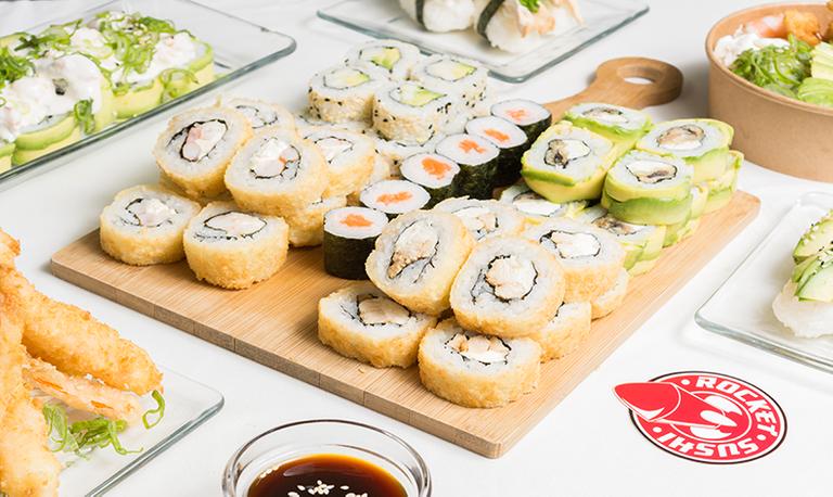 Logo Rocket Sushi