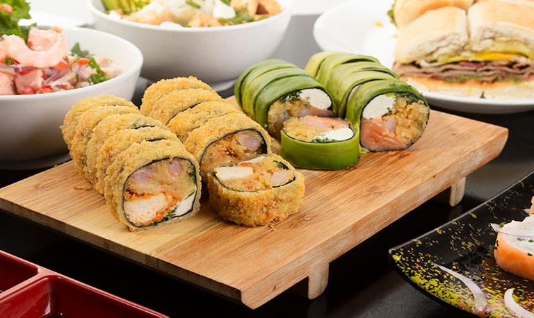 Logo Akitu Sushi y Sándwich