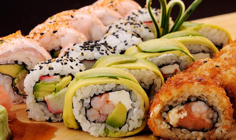 Logo Sushi Blues