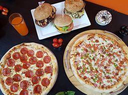 Burger V/s Pizza