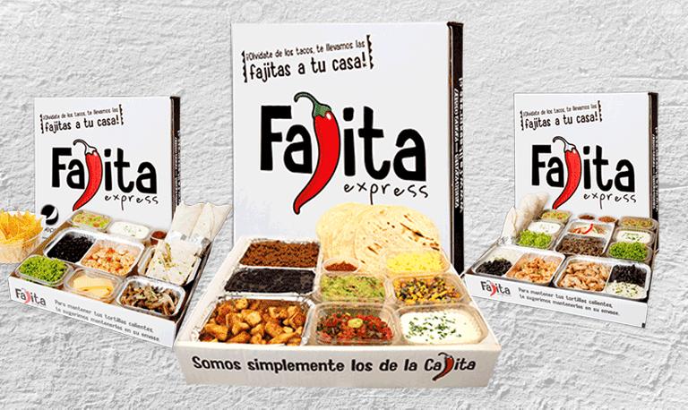 Logo Fajita Express
