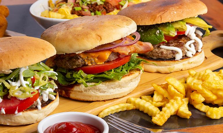 Logo Rollin Burger