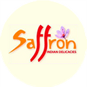 Saffron background