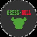 Green Bull background
